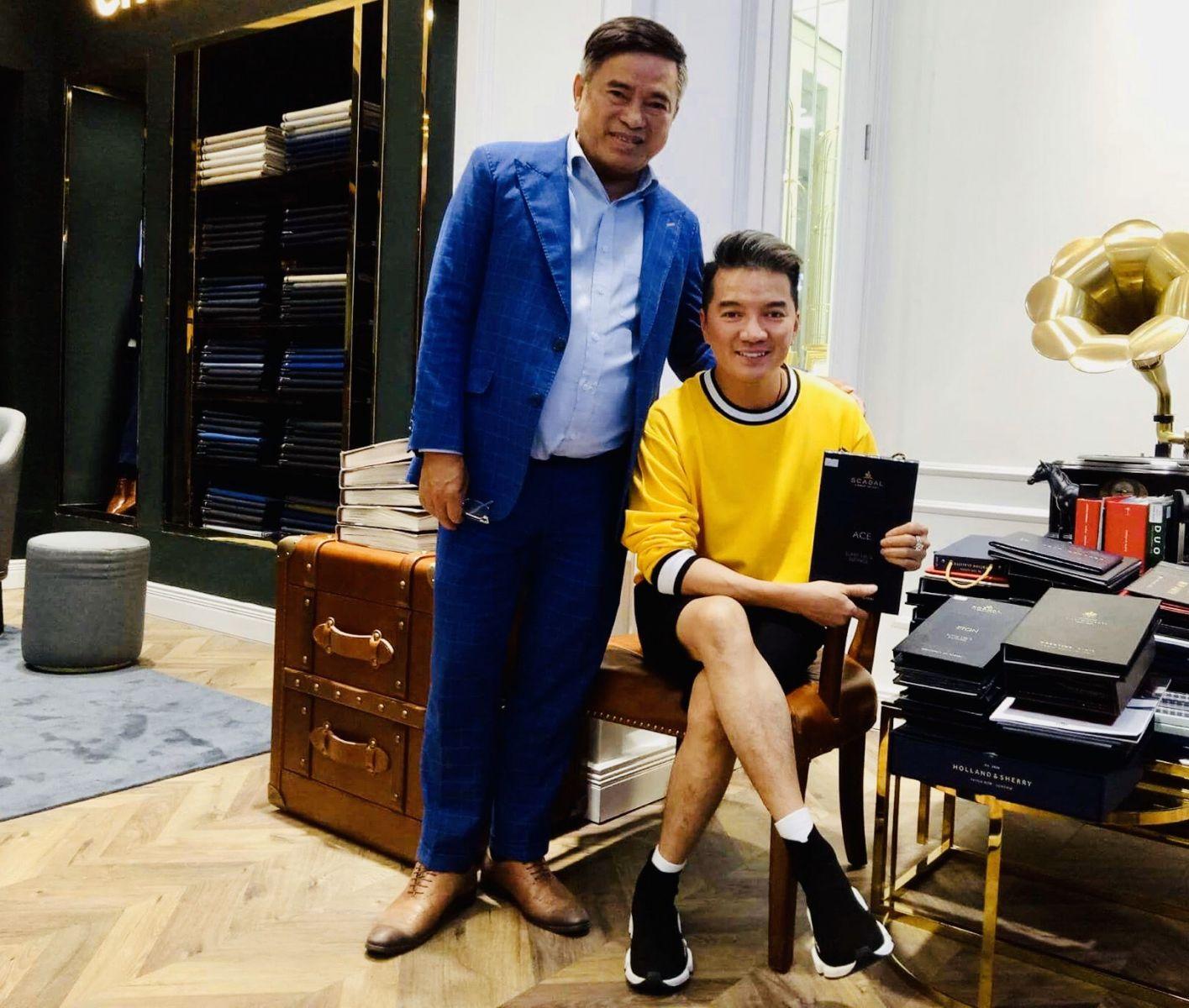 Nghệ nhân Quốc gia Dương Chánh Đại NGƯỜI THỔI HỒN CHO PHONG CÁCH THỜI TRANG NAM