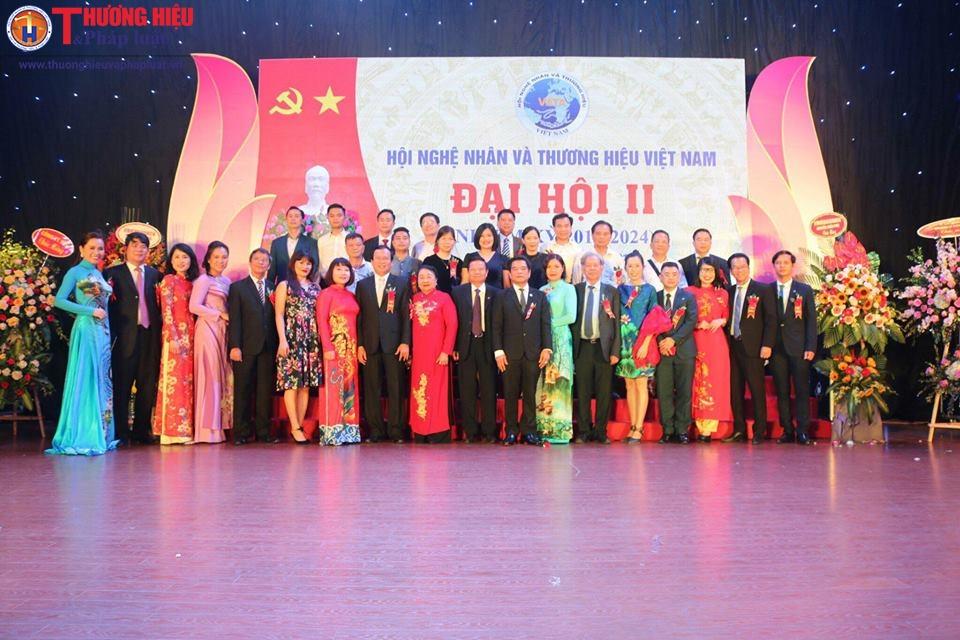 Ban Chấp Hành Hội Nghệ Nhân và Thương hiệu Việt Nam