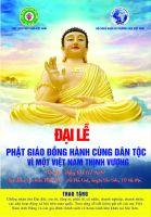 Đại lễ Phật Giáo đồng hành cùng dân tộc diễn ra thành công tốt đẹp